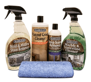 MARBLELIFE® Stone Shower Clean & Maintain Kit – (MTC-41150, MMR-41190, SSR-41200, MAX-41300, MFT-55225)