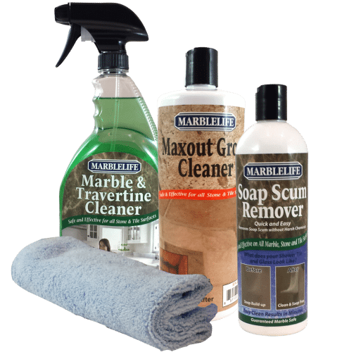 MARBLELIFE BATHROOM Cleaning KITS - Marble