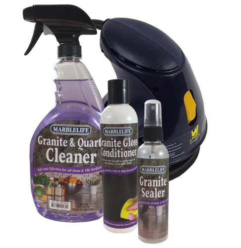MARBLELIFE Granite Countertop Care Kit - With Buffer