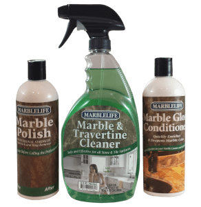 MARBLELIFE® Marble Counter & Table Top Clean & Care Kits – without Buffer – (MTC-41150, MGC-41220, MP-41210)