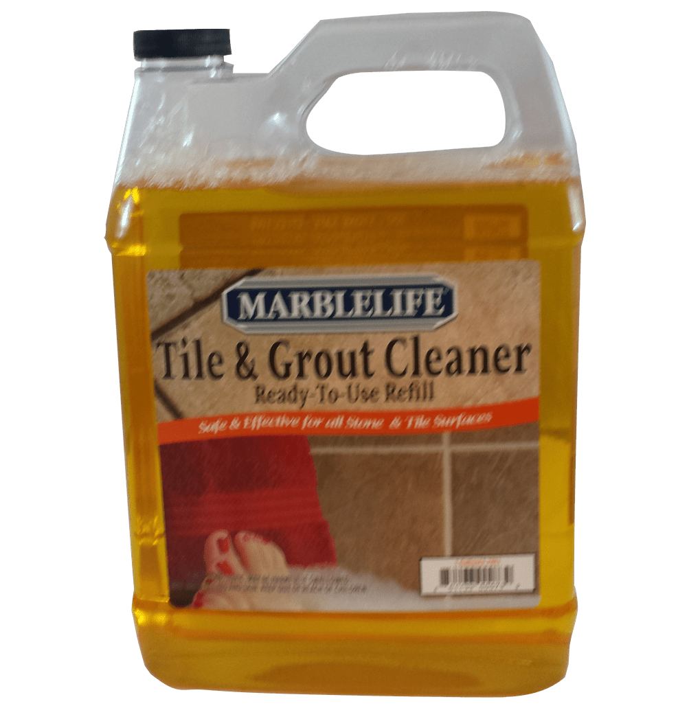 Tile Amp Grout Cleaner Gallon Refill Marblelife